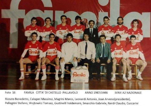 ....dagli archivi del volley..... AMARCORD  18 - anni 80