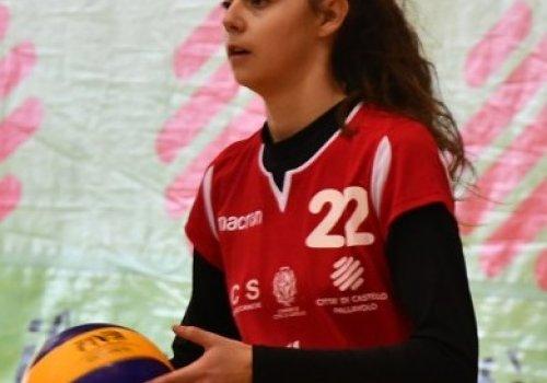 Ester  Pettinari   nel roster 2021 / 2022  serie C femminile