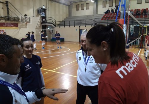 serie C fem. - gara 1 play-off -  GARA PERFETTA - LE DONNE TRIONFANO
