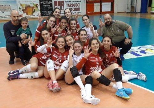 1° divisione femminile - vittoria al tie-break