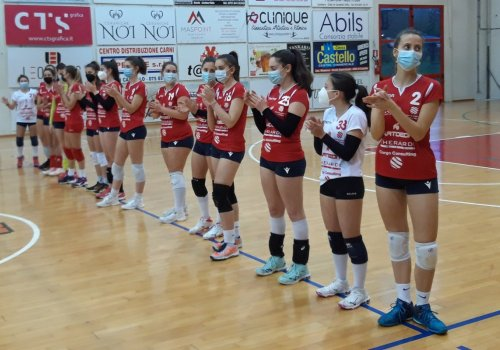 CITTA' DI CASTELLO PALLAVOLO - under 19 - trionfale vittoria