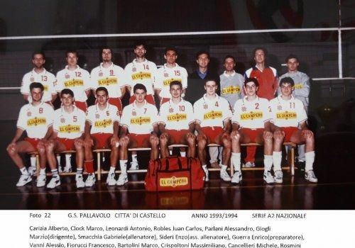 ....dagli archivi del volley..... AMARCORD   24 - anni 90