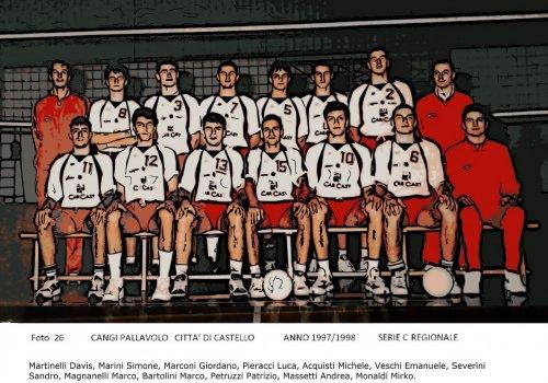 ....dagli archivi del volley......AMARCORD   28 - anni 90