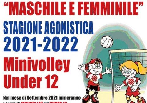 SCUOLA DI PALLAVOLO - maschile & femminile - stagione 2021  2022