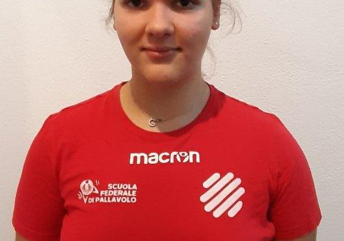 Giorgia Coltrioli nel roster 2021/2022 di serie C