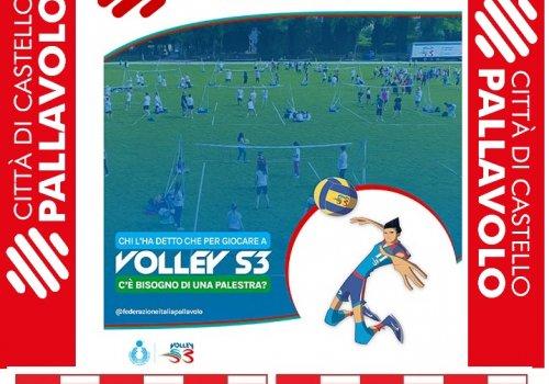 CITTA' DI CASTELLO PALLAVOLO -  Volley S3 al Parco