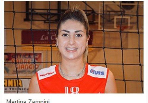 Martina  Zampini nel roster - Stagione agonistica 2021/2022 -