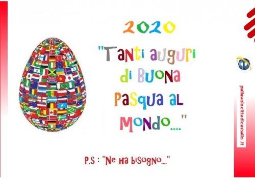 Auguri Pasqua 2020 -