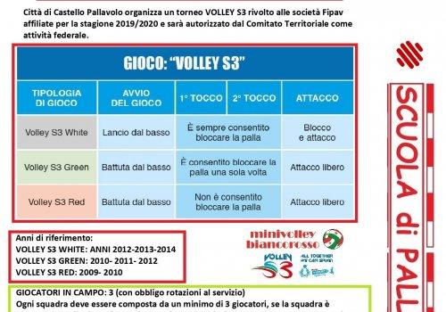 volley S3 - attivita' promozionale