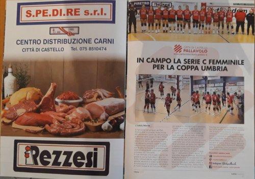 CITTA' DI CASTELLO PALLAVOLO - SETTORE GIOVANILE -  Sport & Sana alimentazione - CONNUBIO VINCENTE