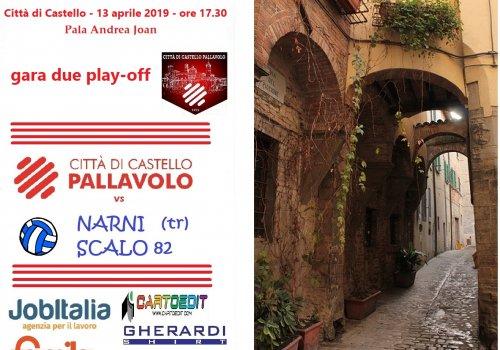 serie C femminile  - gara 2 di play-off  ...13/04/2019
