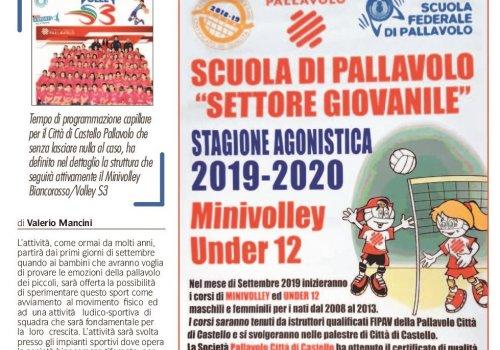 INIZIA LA STAGIONE 2019/2020